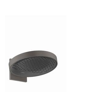 Hlavová sprcha Hansgrohe Rainfinity na stenu kartáčovaný čierny chróm 26230340