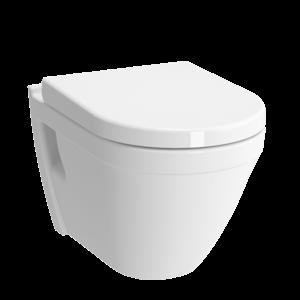 Závesné WC Vitra S50, zadný odpad, 52cm 5318-003-0075