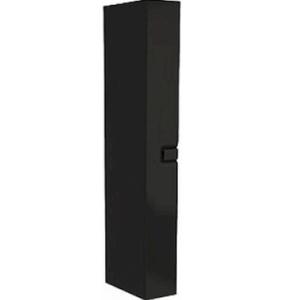 Vysoká skrinka Kolo Twins 22 cm, čierna matná 88465000