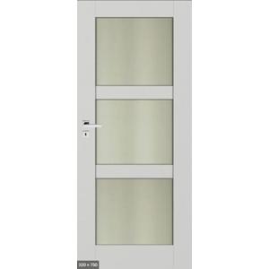 Interiérové dvere Accra 80 cm, ľavé, otočné ACCRAW6S3B80L