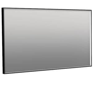 Zrkadlo Naturel 120x70 cm zrkadlo hliník čierna ALUZ12070CLEDP