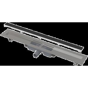 Podlahový žľab Alcaplast bez okraja s roštom pre vloženie dlažby a zníženou výškou APZ115850