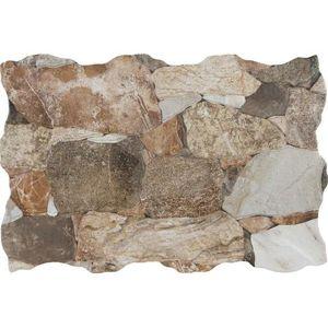 Obklad Geotiles Artesa hnedá 34x50 cm, reliéfne ARTESAMIX