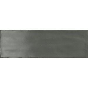 Obklad Ragno Brick glossy anthracite 10x30 cm, lesk BGR4JG