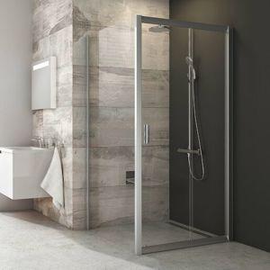 Bočná zástena k sprchovacím dverám 80x190 cm Ravak Blix chróm lesklý 9BH40C00Z1