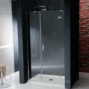 Sprchové dvere 120x90x200 cm Polysan VITRA chróm lesklý BN3015R
