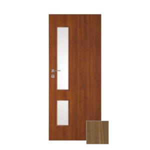 Interiérové dvere Naturel Deca pravé 80 cm orech karamelový DECA20OK80P