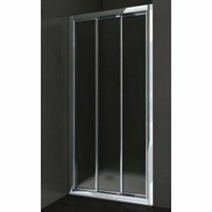 Sprchové dvere Anima Epd posuvné 120 cm, nepriehľadné sklo, chróm profil EPD120CRCH