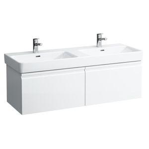 Kúpeľňová skrinka pod umývadlo Laufen Laufen PRO S 125,8x39,2x45 cm grafit H4835720964801