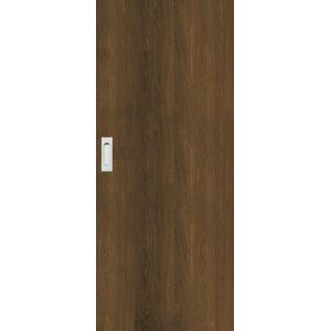 Interiérové dvere Naturel Ibiza posuvné 70 cm orech karamelový posuvné IBIZAOK70PO