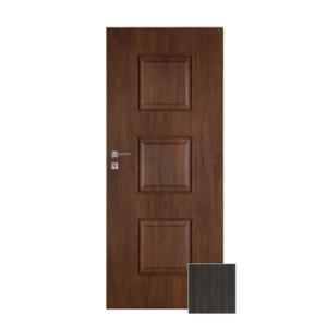 Interiérové dvere NATUREL Kano, 80 cm, pravé, brest antracit, KANO10JA80P