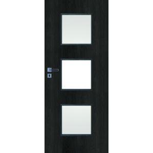 Interiérové dvere Naturel Kano pravé 80 cm brest antracit KANO30JA80P