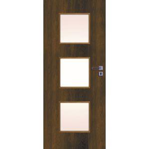 Interiérové dvere Naturel Kano ľavé 80 cm orech karamelový KANO30OK80L
