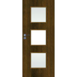 Interiérové dvere Naturel Kano pravé 80 cm orech karamelový KANO30OK80P