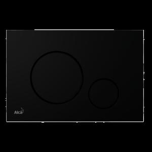 Ovládacie tlačidlo Alcaplast plast čierna mat M678