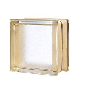 Luxfera Glassblocks MiniGlass vanilka 15x15x8 cm sklo MGSVAN