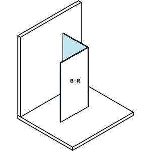 MODULAR SHOWER pevný panel na na stěnu m