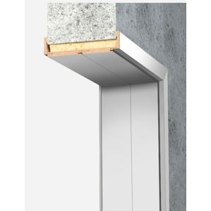 Obložková zárubňa Naturel 70 cm pre hrúbku steny 28-30 cm biela pravá O7BF70P