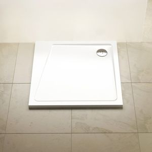 Sprchová vanička štvorcová Ravak 80x80 cm, liaty mramor XA054401010