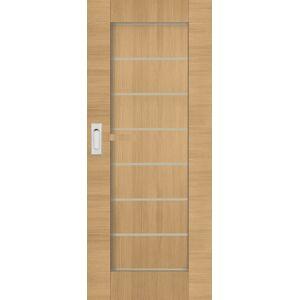Interiérové dvere Naturel Perma posuvné 80 cm brest posuvné PERMAJ80PO