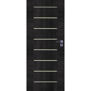 Interiérové dvere Naturel Perma ľavé 80 cm brest antracit PERMAJA80L