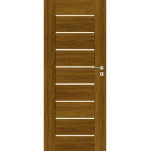 Interiérové dvere Naturel Perma ľavé 80 cm orech karamelový PERMAOK80L