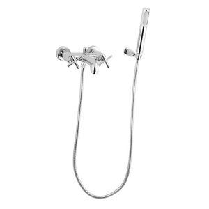 Vaňová batéria nástenná Paffoni Cruz so sprchovacím setom, 150 mm QTV023