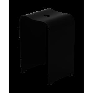 Stolička sprchová Swiss Aqua Technologies volně stojící plast čierna SATSTOLPLASTC