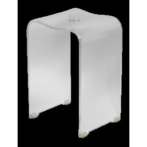 Stolička sprchová Swiss Aqua Technologies volně stojící plast transparentní SATSTOLPLASTT