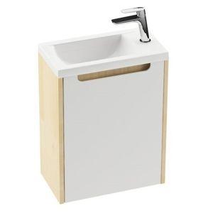 Kúpeľňová skrinka pod umývadlo Ravak Classic 40x22 cm breza X000000417
