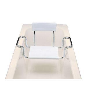 Vaňové sedadlo na okraj vane, biela SED2114