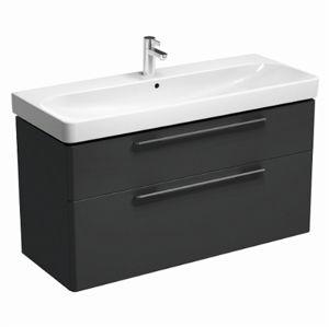 Kúpeľňová skrinka s umývadlom Kolo Kolo 120x71 cm antracit mat SIKONKOT1120AM