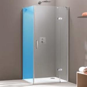 Sprchové dvere Huppe Strike jednokrídlové 90 cm, sklo číre, chróm profil, pravé SIKOSTRIKE90PST90