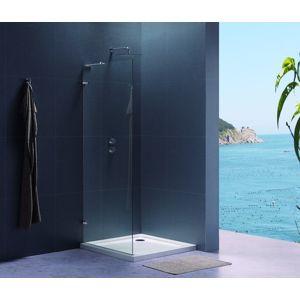Bočná zástena k sprchovacím dverám 90x195 cm Siko TGD chróm lesklý SIKOTGSTENA90