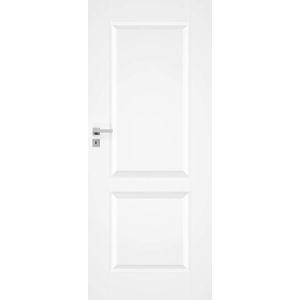 Interiérové dvere NATUREL Nestra10, 90 cm, biele, lak, ľavé, WC, NESTRA1090L